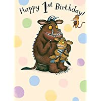 "The Gruffalo GR006""1st"" Birthday Card"