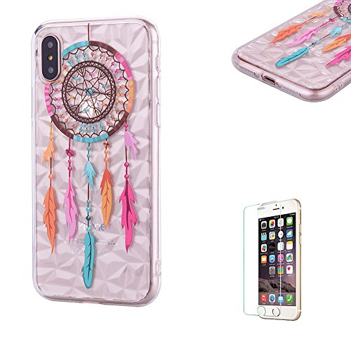 Funyye-Crystal-Trasparente-Custodia-per-iPhone-X