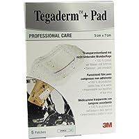 Tegaderm Plus Pad Transparentverband 5 x 7 cm 5 Stück preisvergleich bei billige-tabletten.eu