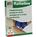 RATIOLINE active Fussgelenkbandage XL, 1 St Bild