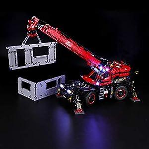 BRIKSMAX Kit di Illuminazione a LED per Lego Technic Grande Gru Mobile, Compatibile con Il Modello Lego 42082 Mattoncini… 0716852283286 LEGO