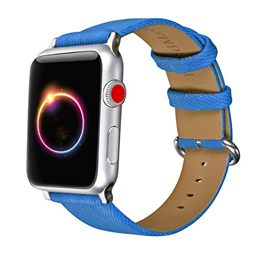Per Apple Watch Band, Bandmax Leather replacement Band/cinghia per iWatch serie 3, Serie 2, serie 1