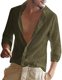 the best attitude 7057a 2d05f Amazon.it: camicia lino uomo - 4121327031: Abbigliamento