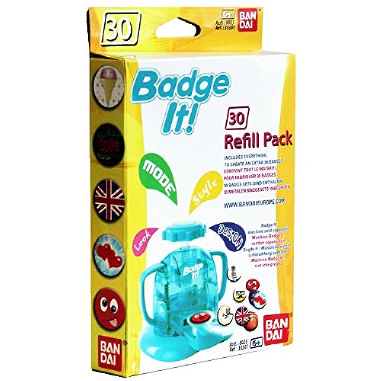 compatible avec Badge-It Badge-Maker Pack de 30 Kit de recharge de badges de 30mm de diam/ètre