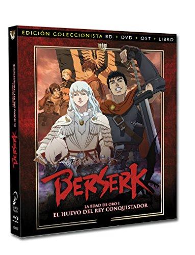 Berserk La Edad De Oro 1: El Huevo Del Rey Conquistador – Edición Coleccionista [Blu-ray] 51S0es 2BzZ6L