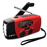 Best Hand Crank Radios - Esky Upgraded Version Solar Hand Crank Emergency Power Review