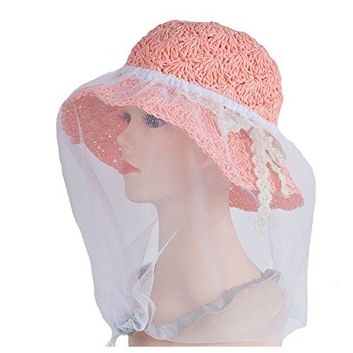 elastic-insectes-head-net-mesh-masque-anti-mosquito-bug-bee-blanc