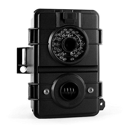 Duramaxx Grizzly 3.0 Wildkamera - Outdoor-Kamera, Jagdkamera, integriertes Farbdisplay, unsichtbarer Infrarot-Blitz, 8 Megapixel Fotos, 720p HD-Videos, Robustes Kunststoffgehäuse, schwarz