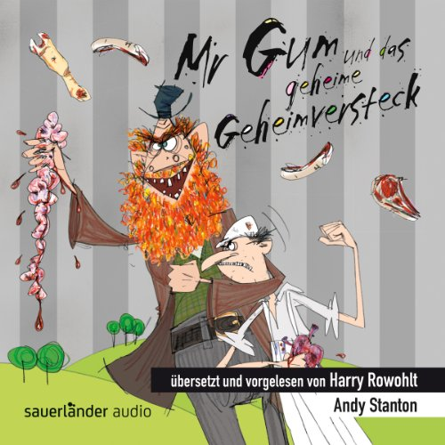 Buchseite und Rezensionen zu 'Mr Gum und das geheime Geheimversteck' von Andy Stanton