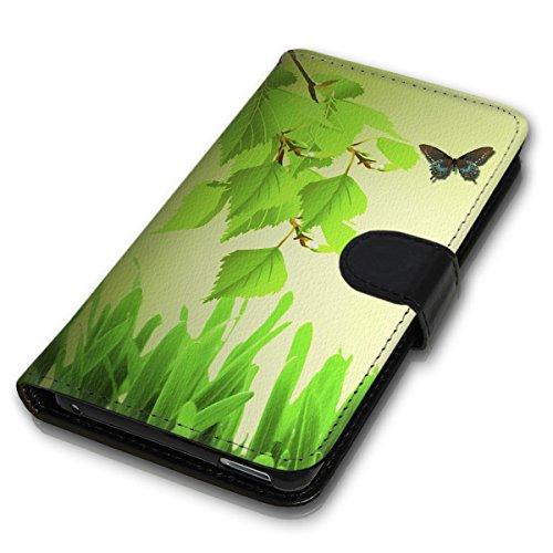 Wallet Book Style Flip Handy Tasche Case Schutz Hülle Schale Motiv Etui für Apple iPhone 5 / 5S - Variante UMV3 Design12 Design 1