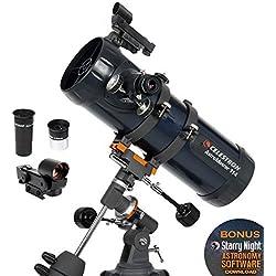 Celestron 31042 AstroMaster 114EQ Télescope réflecteur