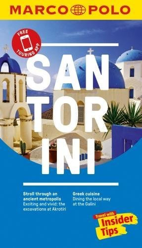 Santorini Marco Polo Pocket Guide 2018 - with pull out map (Marco Polo Guides)