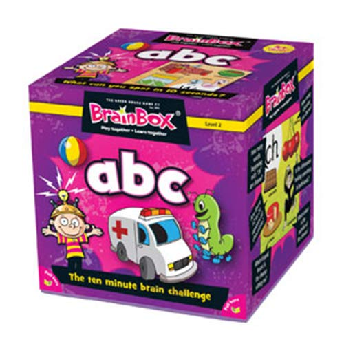 The Green Board Game Co. BrainBox - ABC