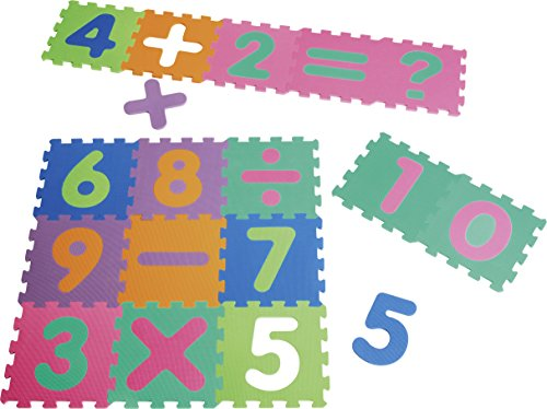 Playshoes Puzzlematte Zahlen mit Rechenzeichen