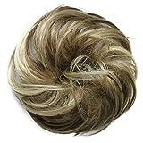 PRETTYSHOP Scrunchy Scrunchie Bun Up Do Hair Piece Hair Ribbon Ponytail Extensions Wavy Messy Brown blonde mix # 12H88 G38B