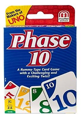 Mattel Phase 10 Jeu de cartes