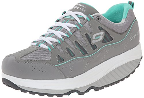 Skechers 2.0 Comfort Stride, Chaussures Multisport Outdoor femme Grey (Grey/Multi)