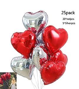 25 globos de papel de