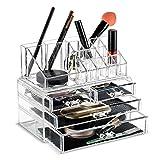 Fobuy - Organizador de maquillaje acrílico transparente para...