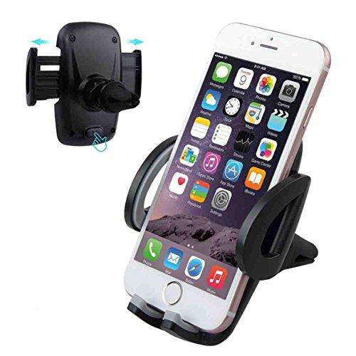 Universal KFZ Lüftungsschlitz Halterung, Te-Rich Auto Handyhalter f. iPhone 7 6s 6 plus 5s Samsung Galaxy S7 S6 S5 und andere Smarthpones
