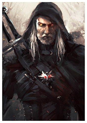 Poster The Witcher III (B) - Geralt - A3 (42x30 cm)