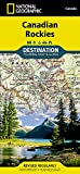 Canadian Rockies Destination Map