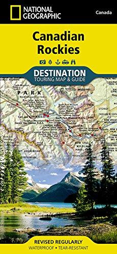 Canadian Rockies Destination Map 1:710,000 (National Geographic Destination Map)