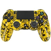 """""""Yellow Digital Camouflage"""" PS4 Custom UN-MODDED Controller Exclusive Design"""