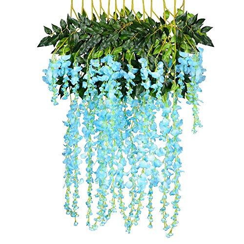 ume violett Pflanze Decke Blume Rebe Simulation Hauptwanddekoration Blume ()