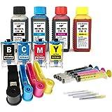 Kit de recarga para cartuchos de tinta HP 903XL 903 negro y color, tinta de alta calidad incluye accesorios