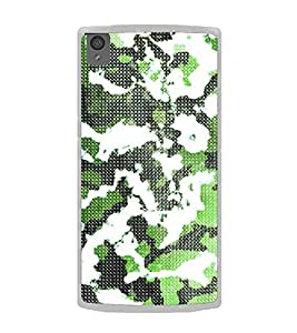 Army Fatigue Pattern 2D Hard Polycarbonate Designer Back Case Cover for OnePlus X :: One Plus X :: One+X