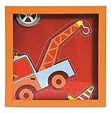 TRÄ PRESENT TR003760 Kinderzimmer Bild Abschleppwagen