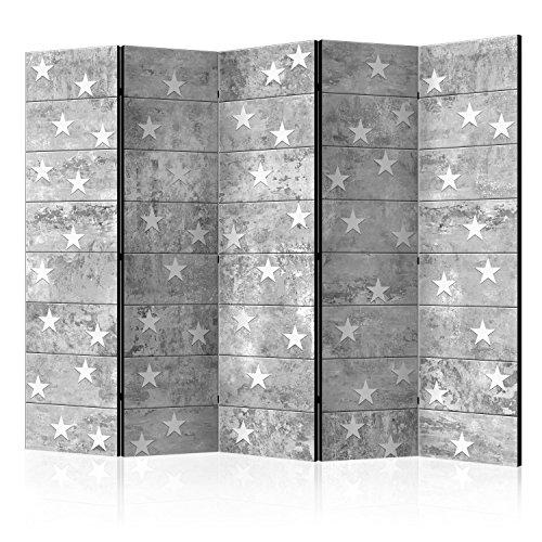 murando Paravent 225x172 cm Une Seule Côté Impression sur Toile intissée 100% Opaque Foto Paravent Décoratif en Bois avec Interieur Impression f-A-0377-z-c