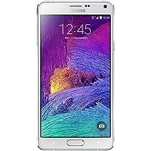 Samsung Galaxy Note 4 Smartphone débloqué 4G (Ecran : 5,7 pouces - 32 Go - Simple SIM - Android 4.4 KitKat) Blanc
