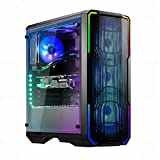 BitFenix Enso Mesh RGB Midi-Tower - PC-Gehäuse - Tempered Glass - schwarz