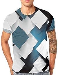 AIMEE7 Camiseta Manga Corta Estampada para Hombres Verano Camisetas Hombre Manga Corta Camiseta Personalizada para Hombre