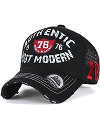 ililily authentisch MOST Moderne klassischer Stil abgenutztes Aussehen Netz Trucker Cap Hut Baseball Cap