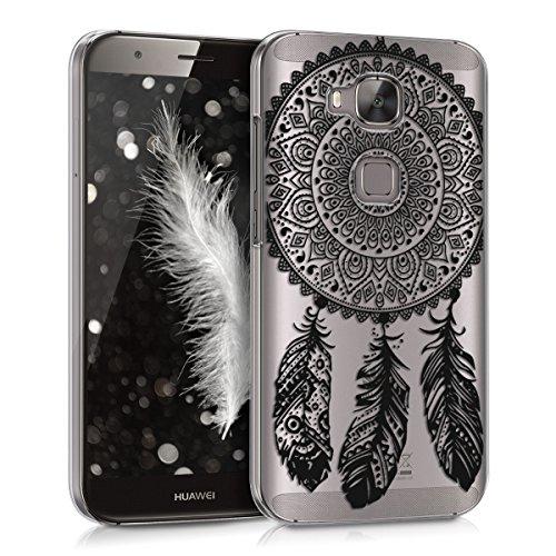 kwmobile Huawei G8 / GX8 Hülle - Handyhülle für Huawei G8 / GX8 - Handy Case in Schwarz Transparent