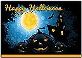 Einladungskarten zu Halloween 12-er Set gruselige Halloweenparty Einladungen Kindergeburtstag zum Geburtstag, Party, Kürbis, Feier