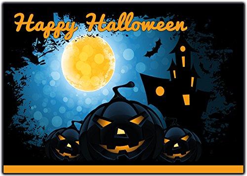 Einladungskarten zu Halloween 12-er Set Gruselige Halloweenparty Einladungen Kindergeburtstag zum Geburtstag Party Kürbis Feier Halloweenparty Kinder Erwachsen-e gruselih