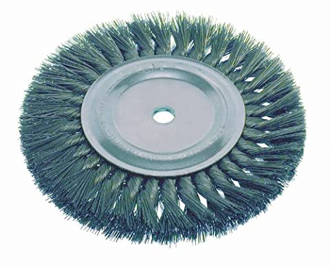 Osborn 26040SP Knotted Wire Wheel Brush, Carbon Steel, 0.010