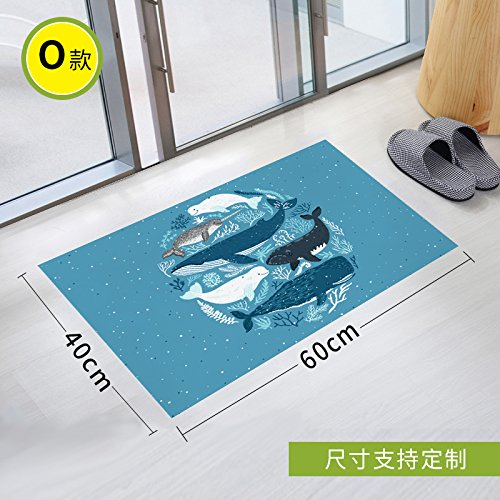 Stick Slip Sticker Toilet Scrub Toilet Waterproof Gummed Paper Twill Bathroom Glass Pad To Remove Environmental Protection, 90 * 60Cm,Thirteen -