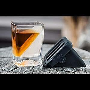 Das Whiskey Wedge Whiskyglas mit innovativer Eisform