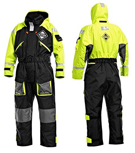Fladen Rescue System Schwimmanzug / Floatinganzug verschiedene Größen / Überlebensanzug Norwegen (X-Large - 90 to 110kg - 183 to 190cm)