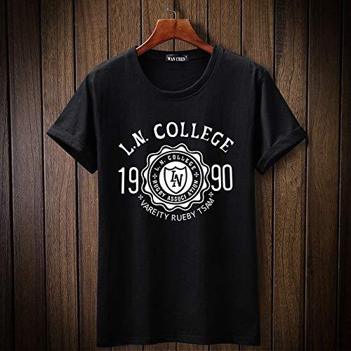 Preisvergleich Produktbild ljradj banxiu 3ps Plus Dünger XL Baumwolle Rundhals Herren T-Shirt 2 M