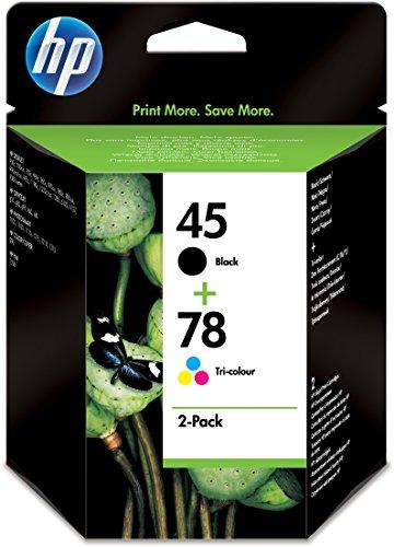 HP Nr45 Tinte schwarz+Nr78 Tinte farbig