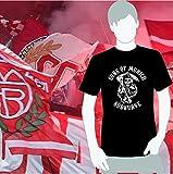 World of Football Bayern T-Shirt sons of munich Südkurve schwarz - M