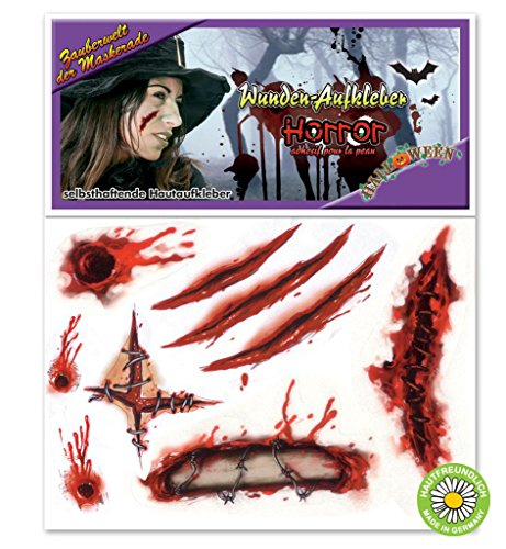 Ideen Günstige Kostüm Halloween Beängstigend (Halloween Hautaufkleber)