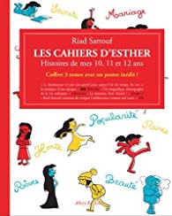 Les Cahiers d'Esther, coffret 3 tomes : Histoires de mes 10, 11 et 12 ans par Riad Sattouf