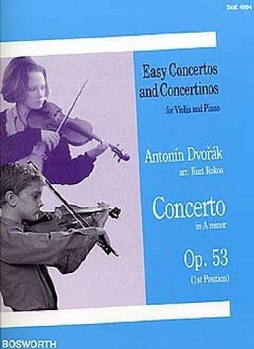 Concerto en la min. Op.53 - Violon